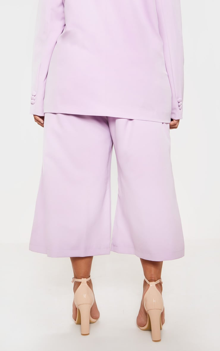 Lilac High Waisted Culottes 5
