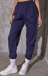Navy Blue Casual Sweatpants 2