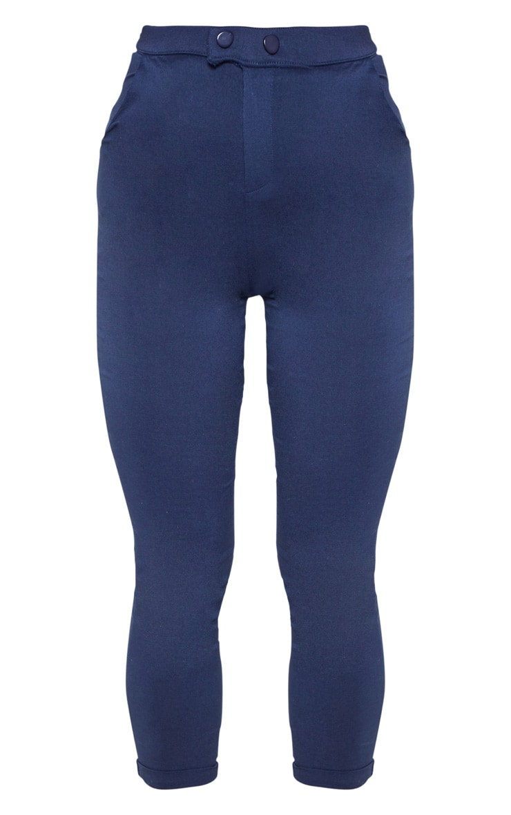 Navy Simi High Waisted Jeggings 3