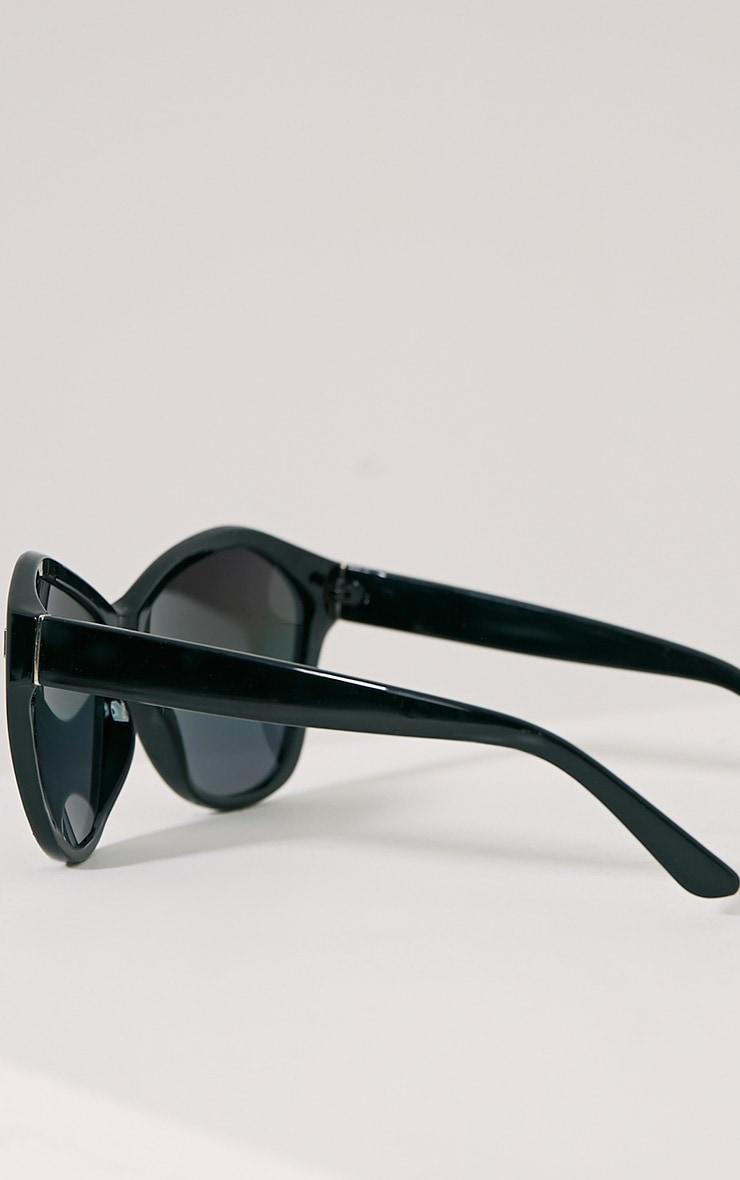 Darcy Black Mirrored Sunglasses 2