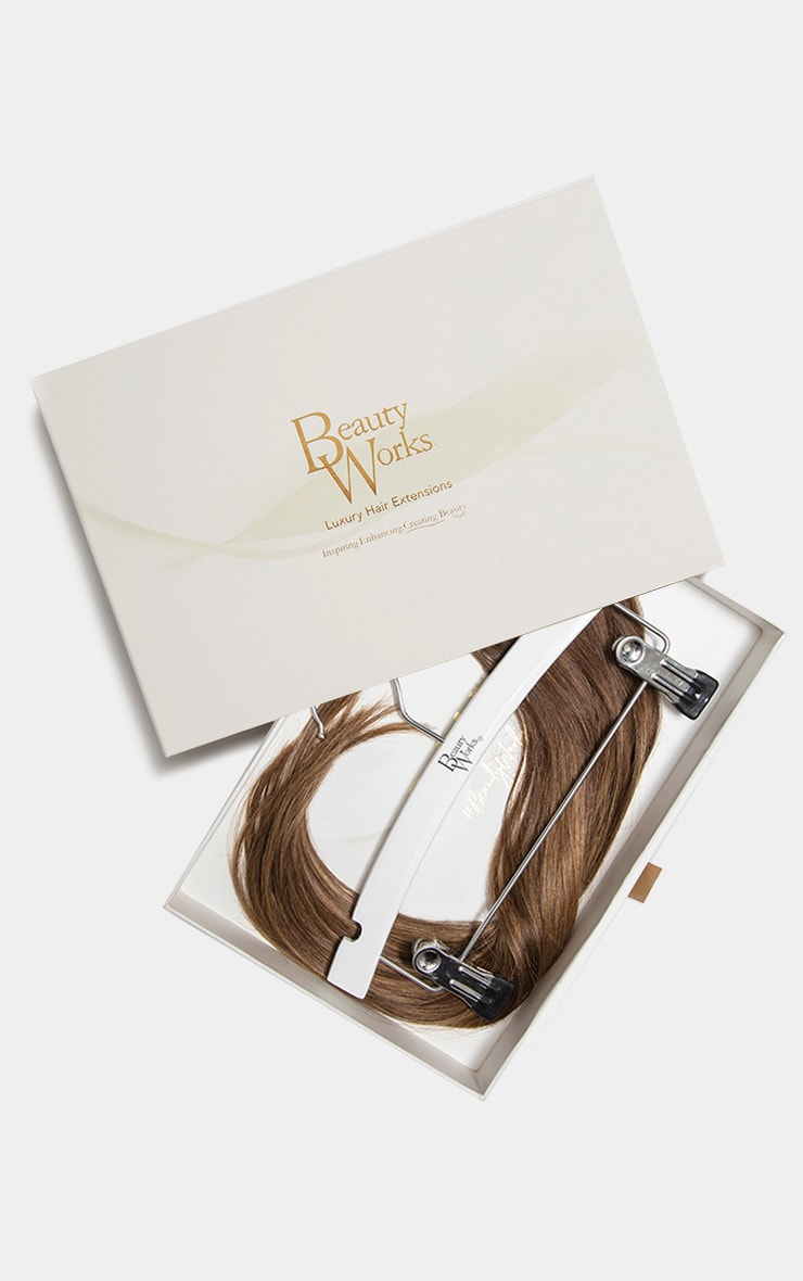 Beauty Works Double Hair Set Weft 18 Inch Brond'mbre 1