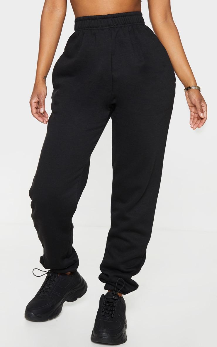 Shape Black High Waisted Pocket Detail Joggers 2
