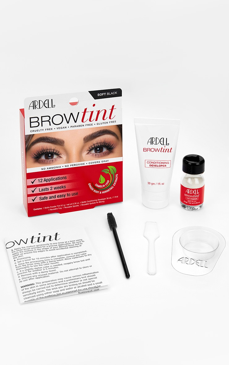 Ardell Brow Tint Soft Black 2