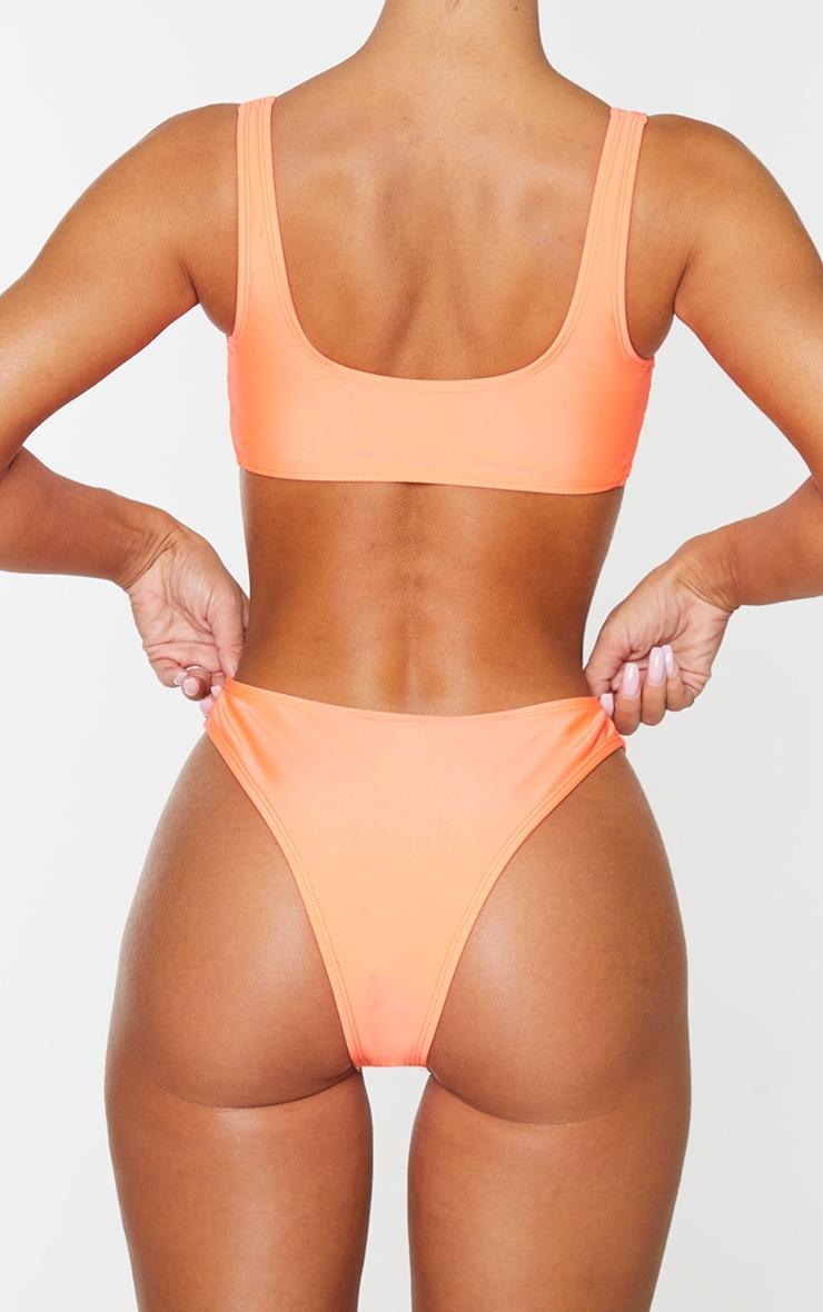 Coral Mix & Match V Front Bikini Bottoms 3