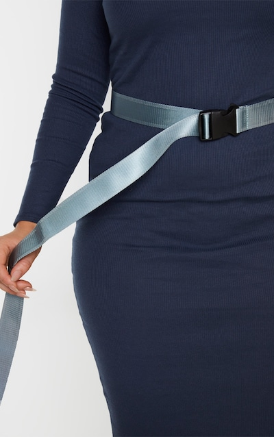 Plus Lead Grey Tape Belt