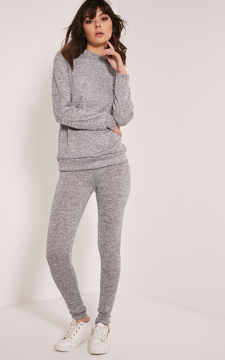 Dannie Grey Tracksuit Bottoms 1