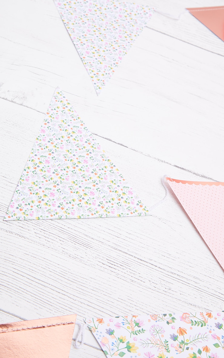 Ginger Ray Bunting  Ditsy Floral  2