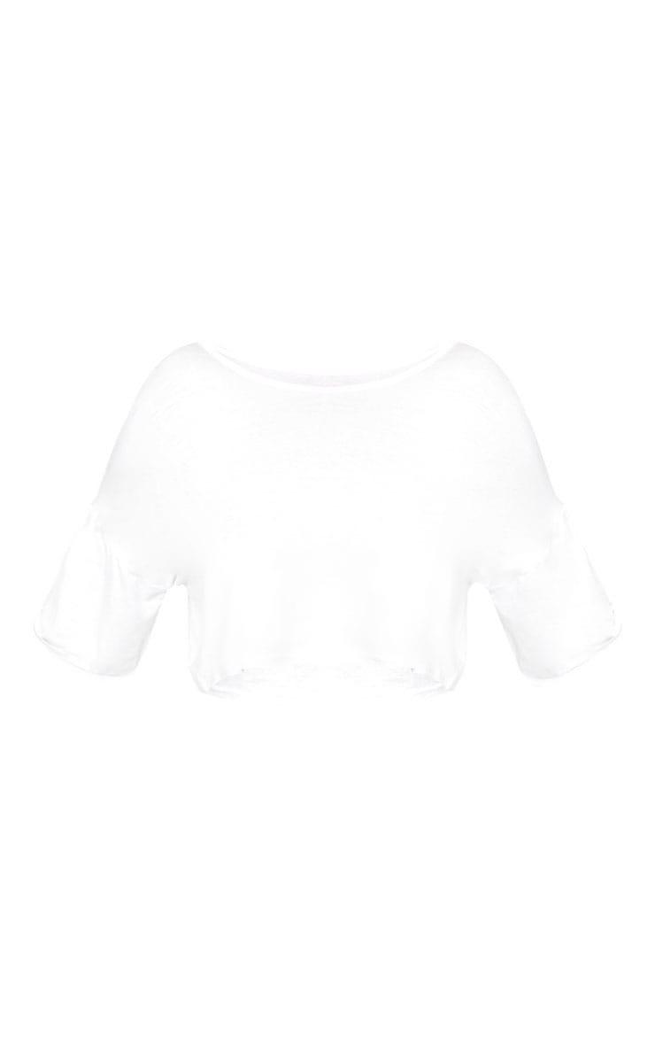 Shape Lannah White Basic Crop Top 3