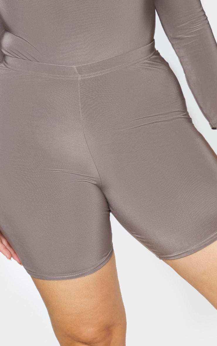Plus Slate Slinky Cycle Shorts 5