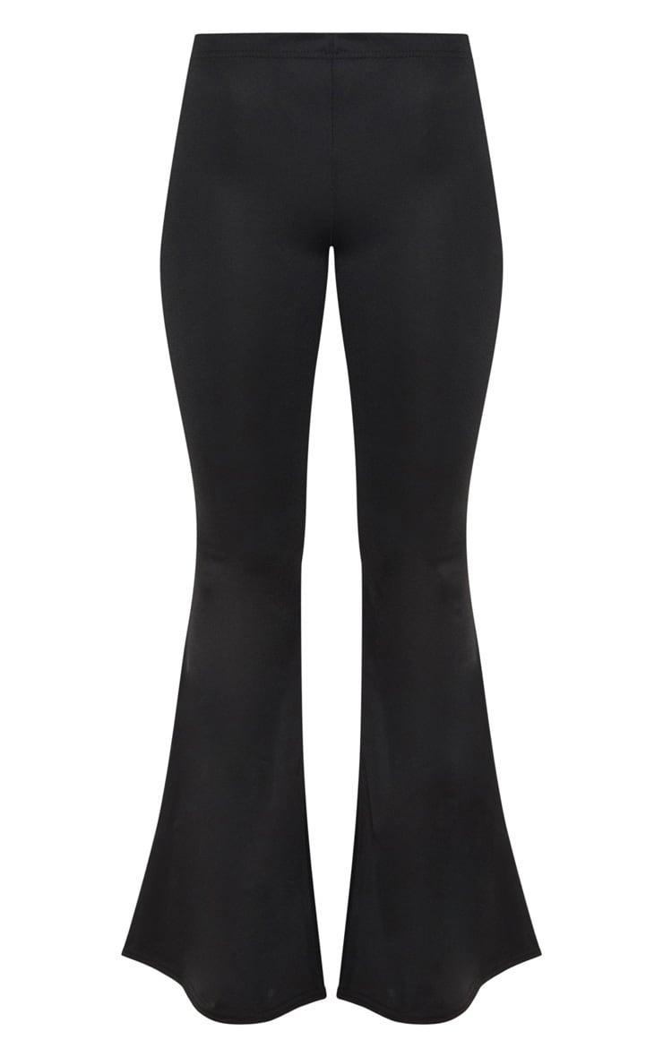 Black Ultimate Flared Trousers 3