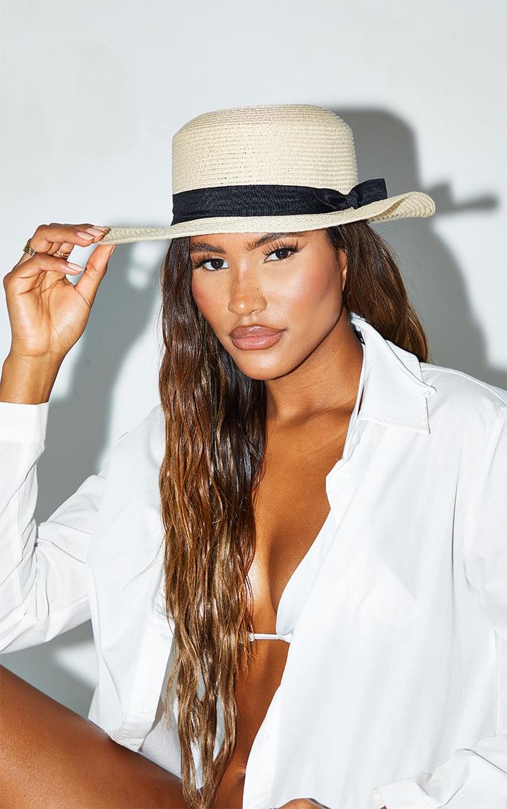Straw Summer Hat 1