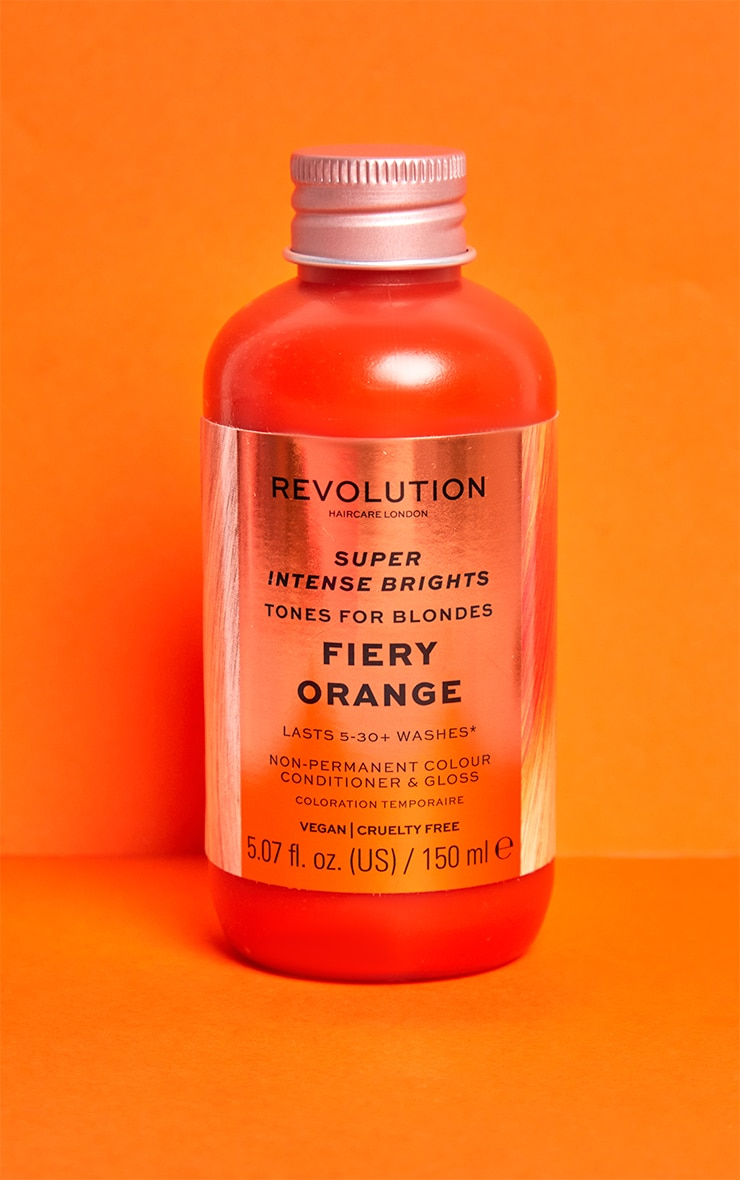 Revolution Haircare Tones for Blondes Fiery Orange 1