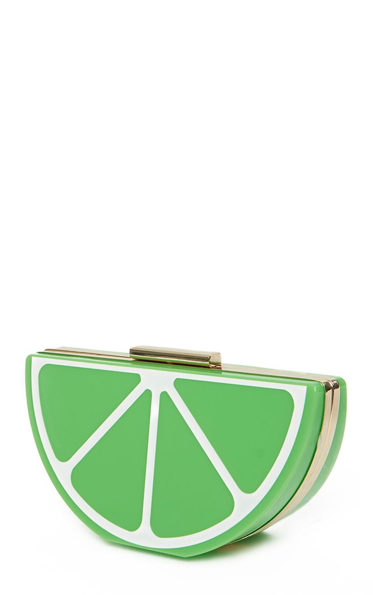 Lorian Lime Clutch 6