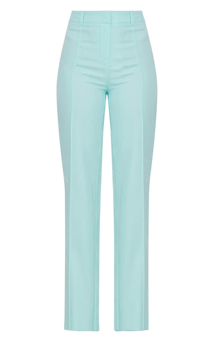 Mint High Waisted Straight Leg Pants 3