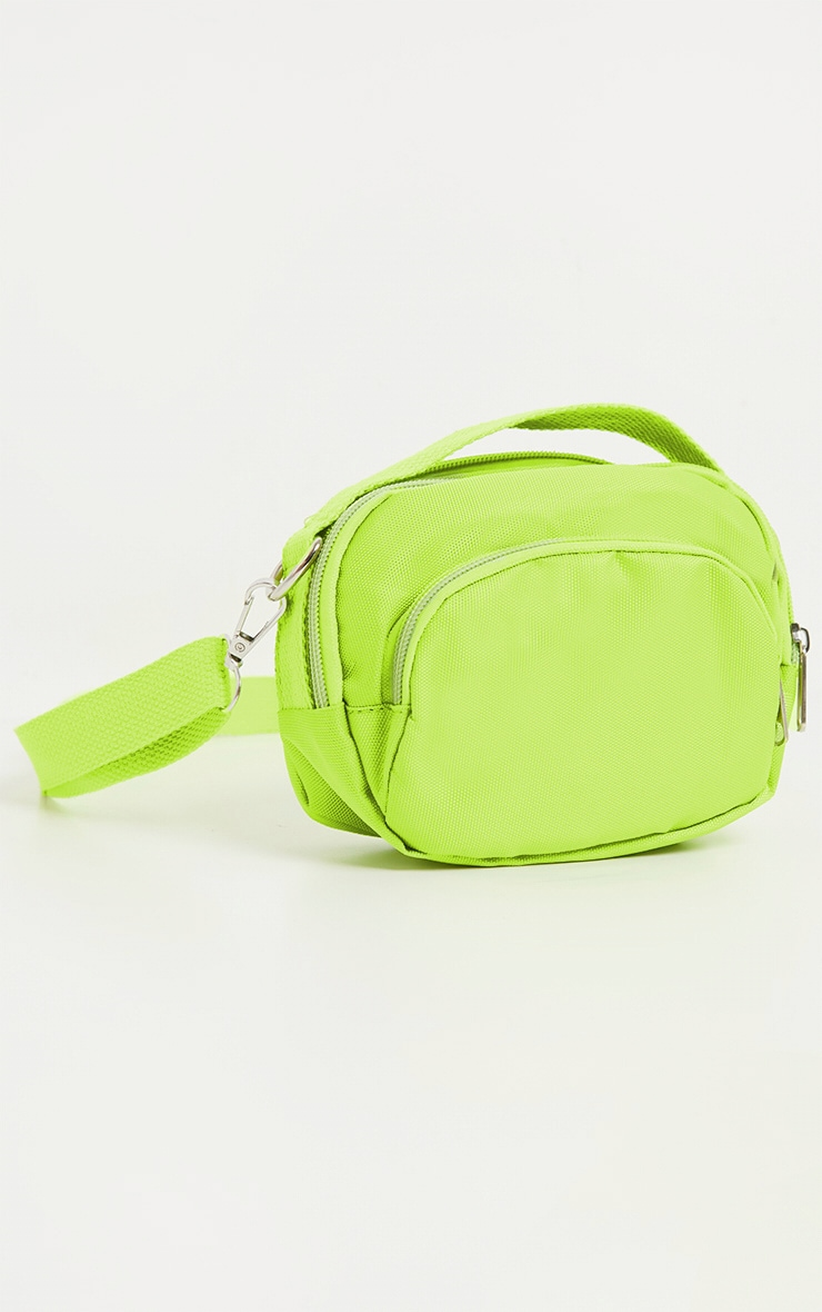 Lime Nylon Mini Bag 1