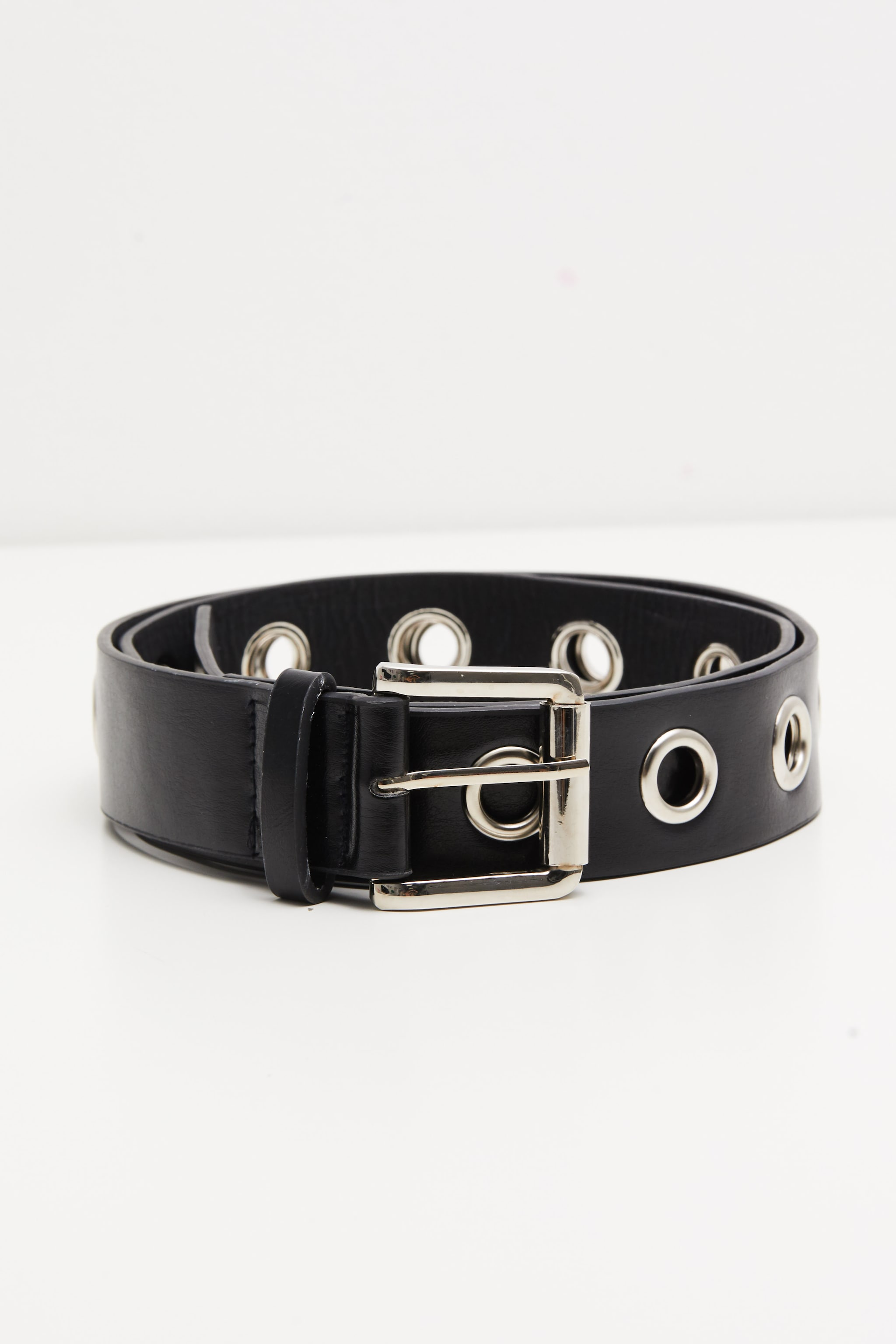 Black Eyelet Belt 1