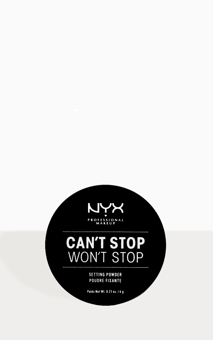 NYX PMU Can't Stop Won't Stop Setting Powder Medium Deep 2