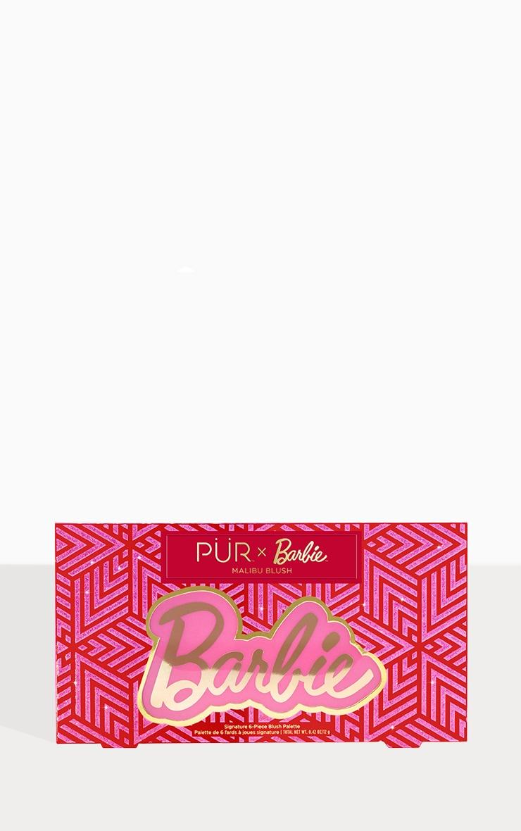 PUR X Barbie Malibu Blush Signature 6 Piece Blush Palette