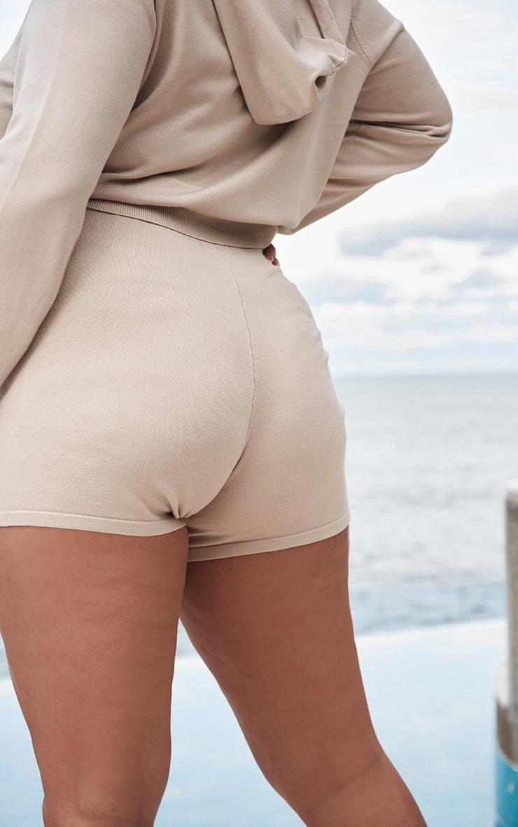 Plus Stone Knit Cycle Shorts 3