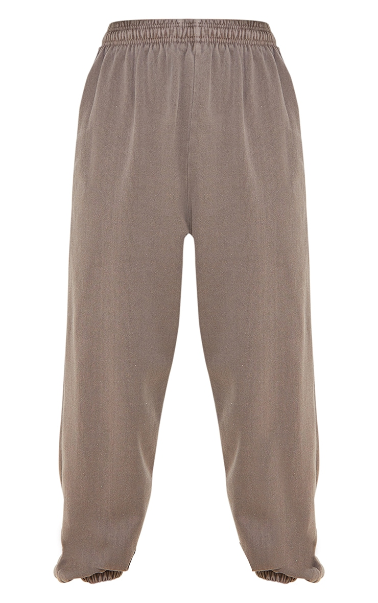 Recycled Mocha Washed Joggers 5