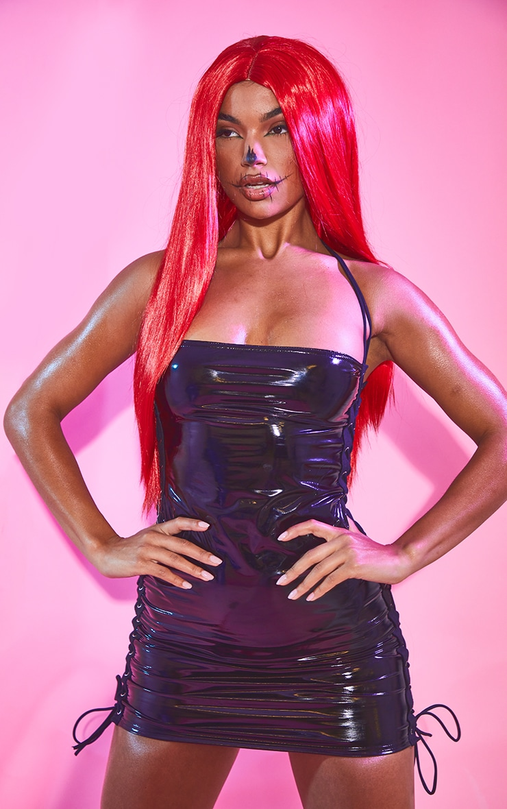 Red Long Wig 1