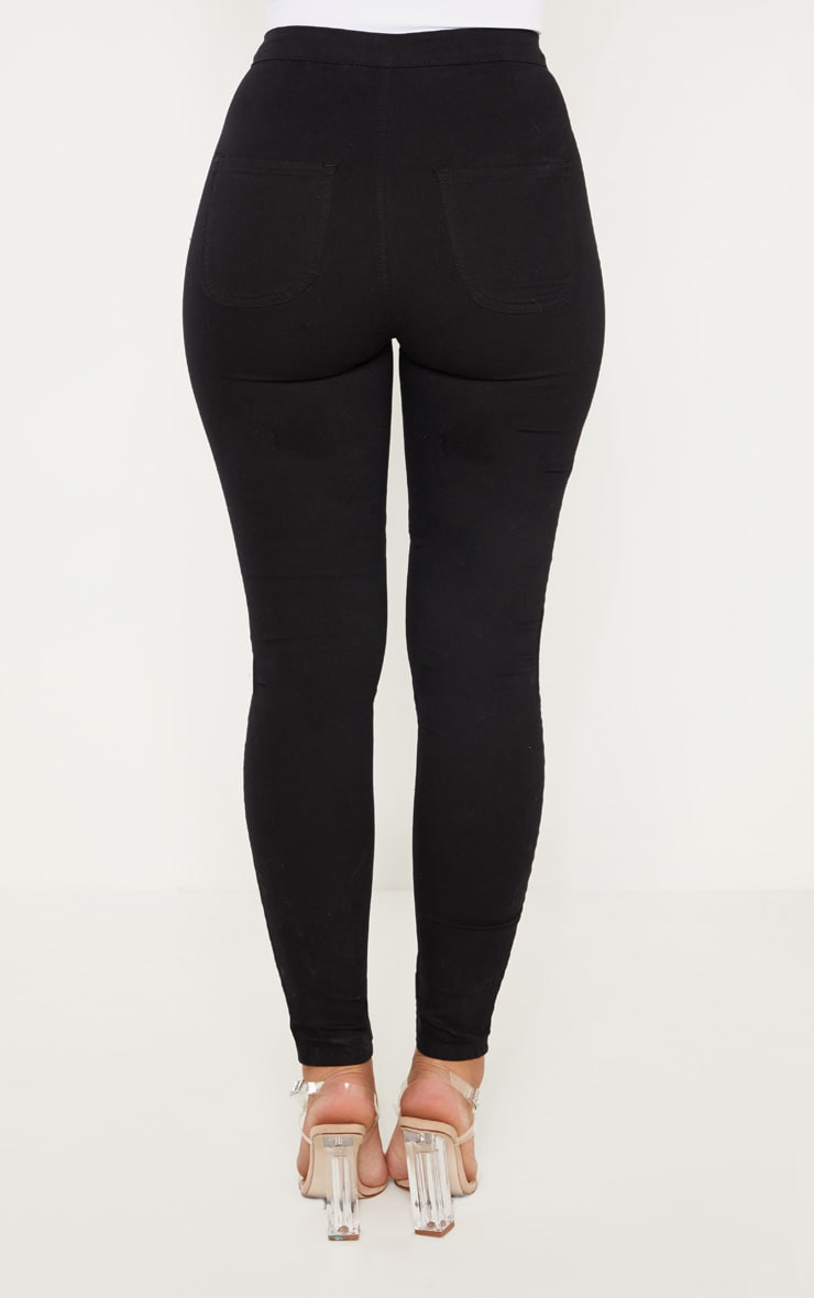 Black Denim Jegging 6