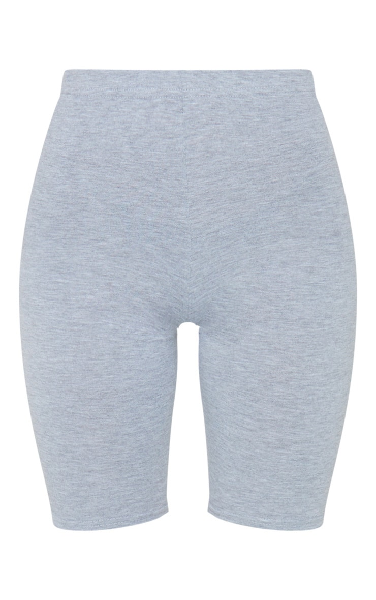 Essential Jersey Grey Cycle Shorts 6