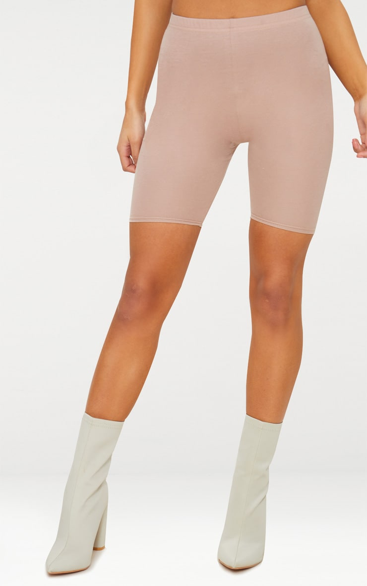 Taupe Cycling Shorts 2