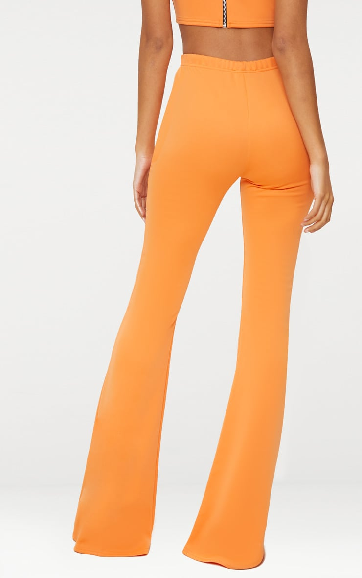 Tangerine High Waist Extreme Flare Long Leg Pants 3