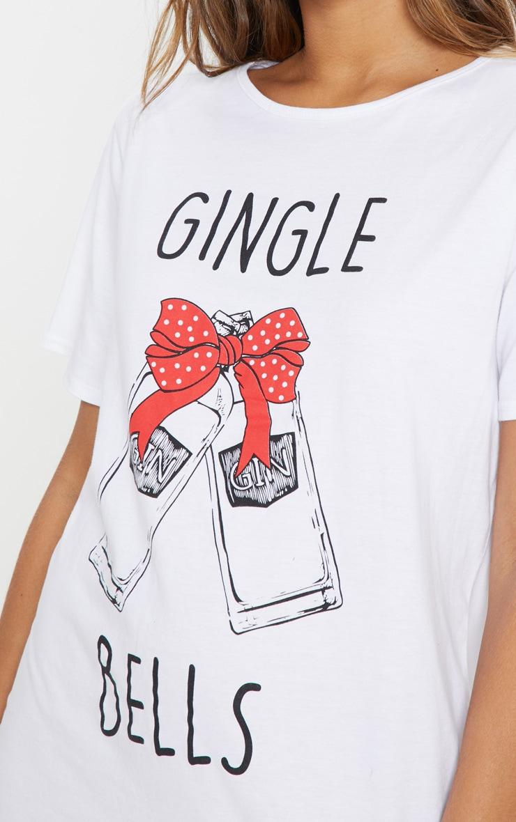 Gin-gle Bells White Nightie 5
