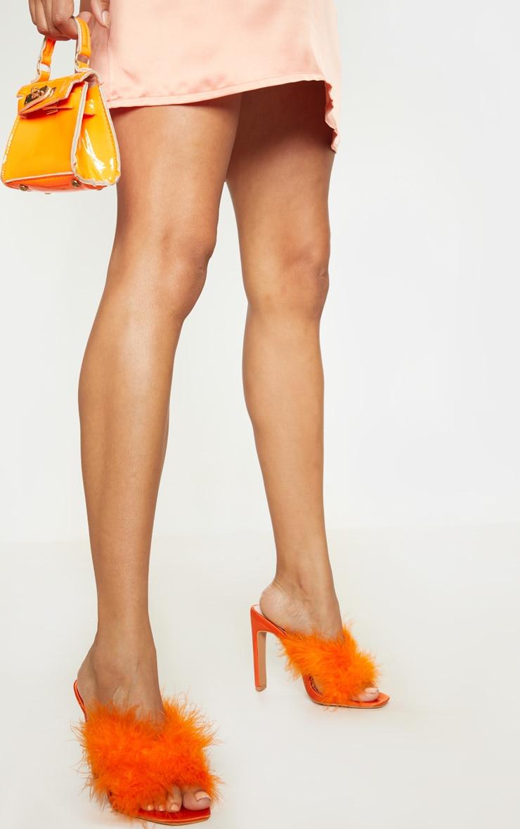 Orange Feather Mule 1