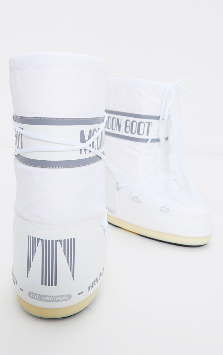 Moon Boots classiques blanches 4