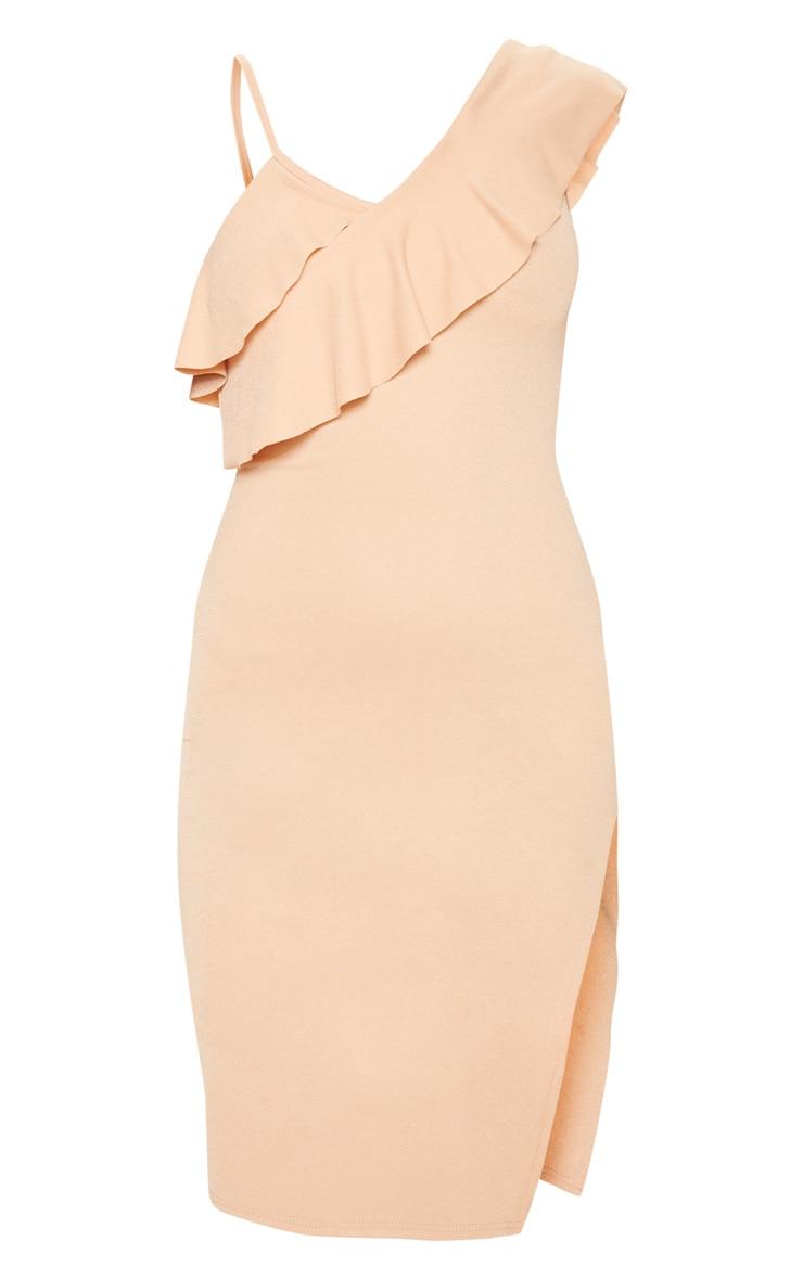 Fawn Frill Detail Strappy Midi Dress 3