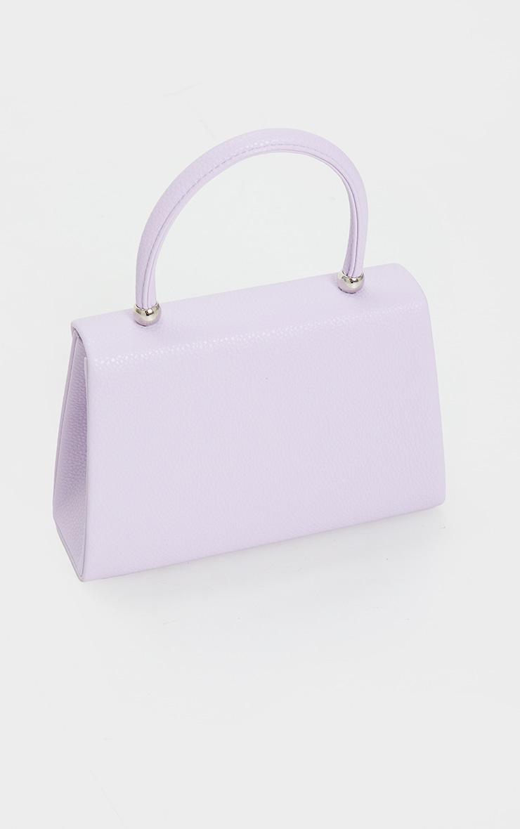 Lilac Envelope Large Cross Body Bag 3