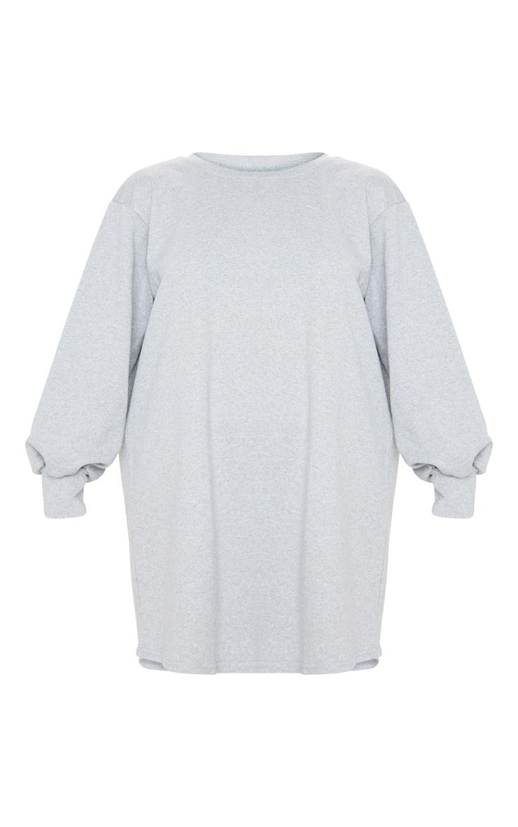 Grey Oversized Sweater Dress 5
