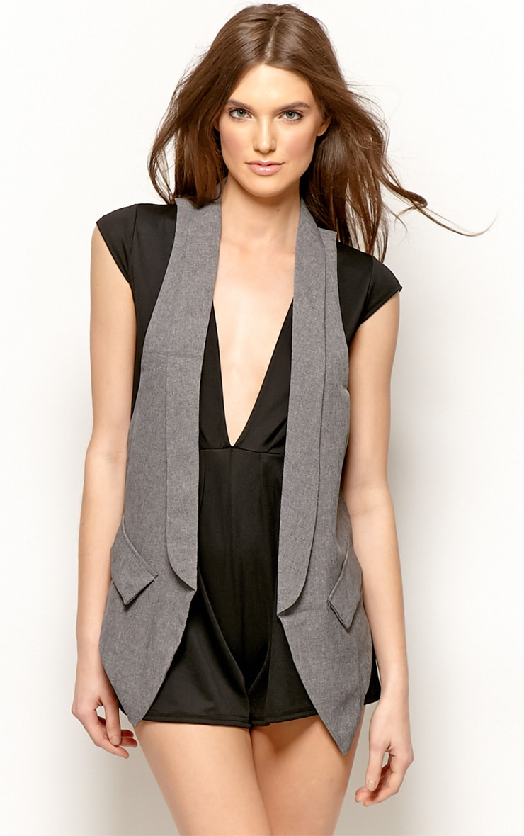 Andrej Grey Waist Coat  1
