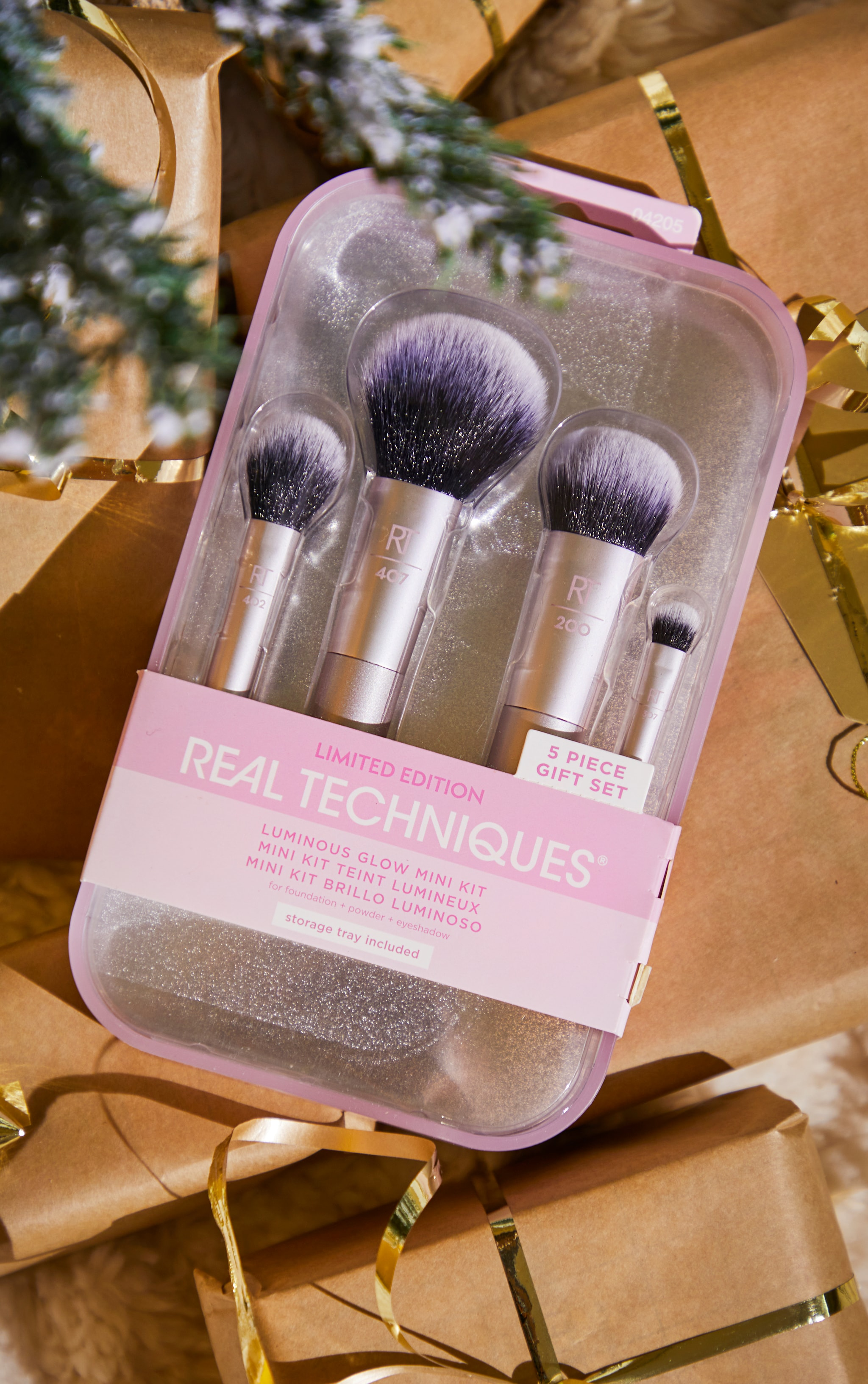 Real Techniques Luminous Glow Mini Brush Giftset 1