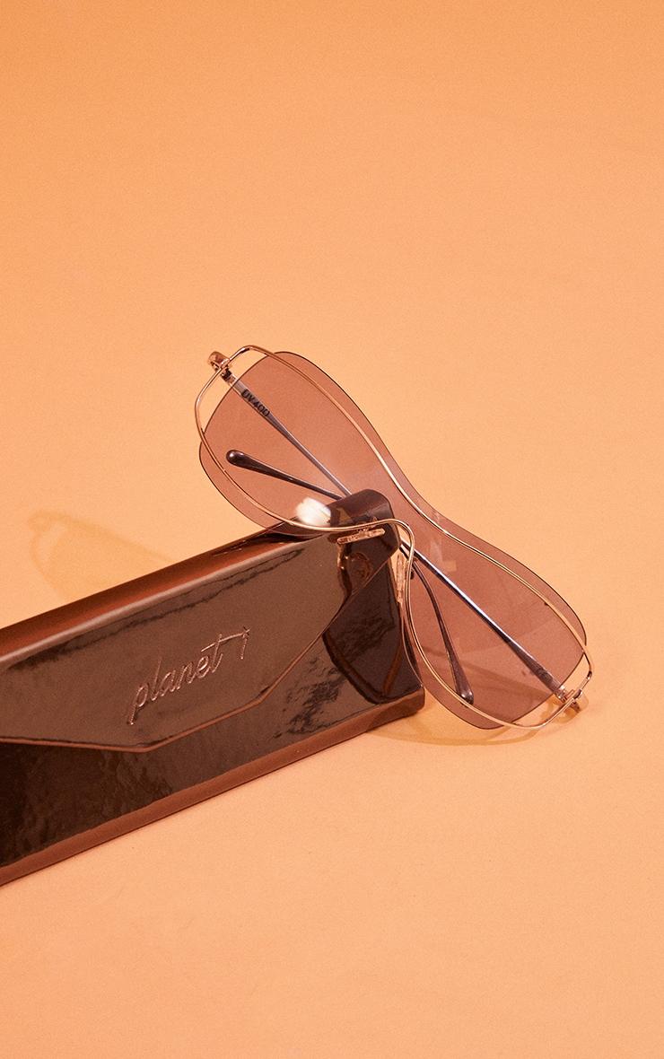 Planet I The Platinum Smoke Sunglasses 3