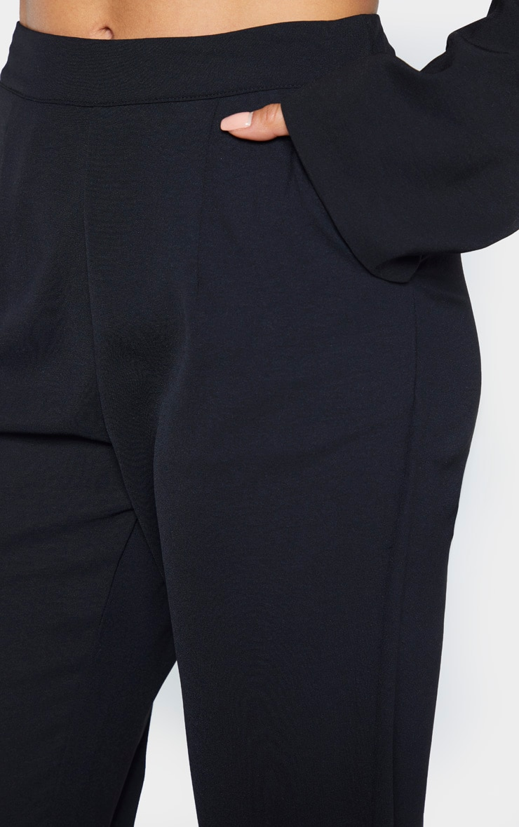 Tall Black Tailored Pants 5