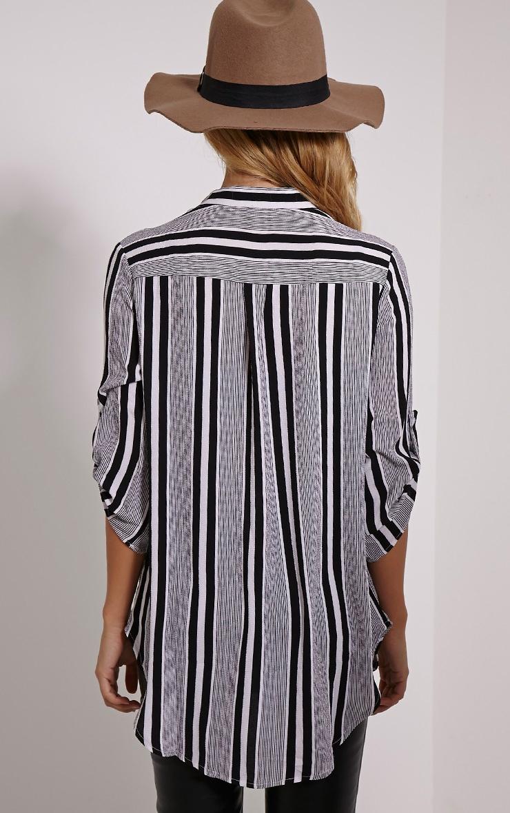 Jax Monochrome Stripe Shirt 2