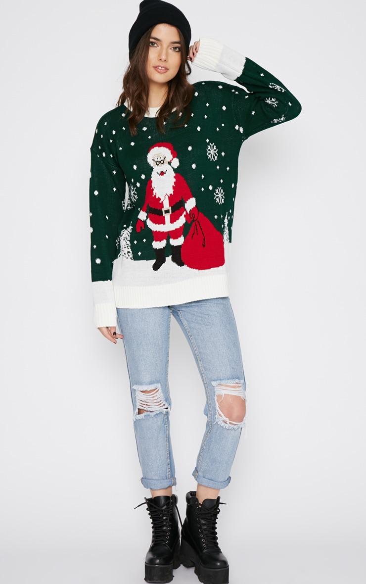 Jessi Green Santa Jumper  3