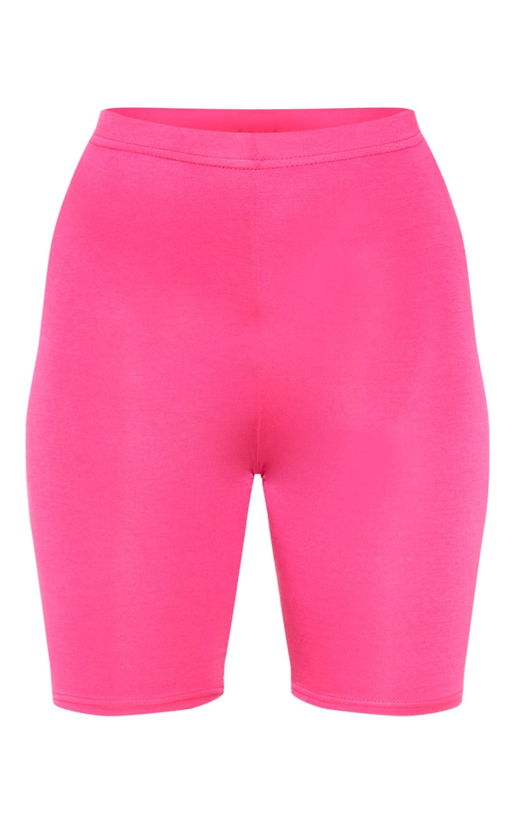 Fuchsia Basic Bike Shorts 4