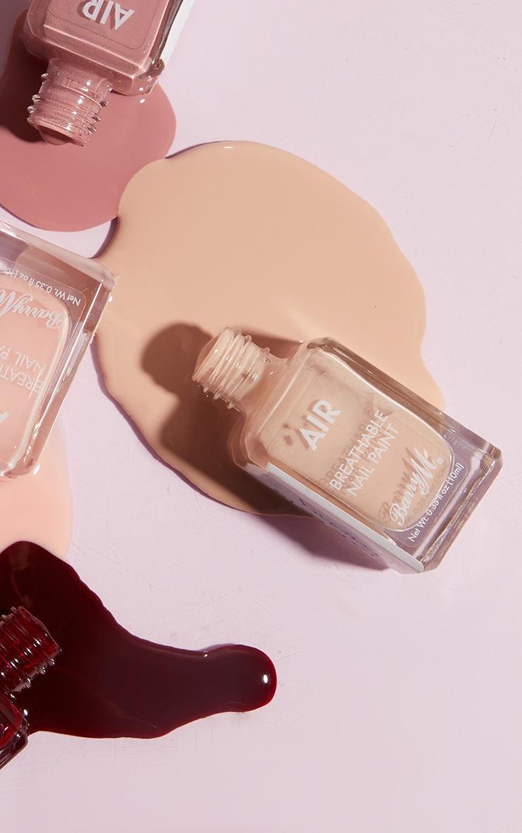 Barry M Cosmetics Air Breathable Nail Paint Peachy 3