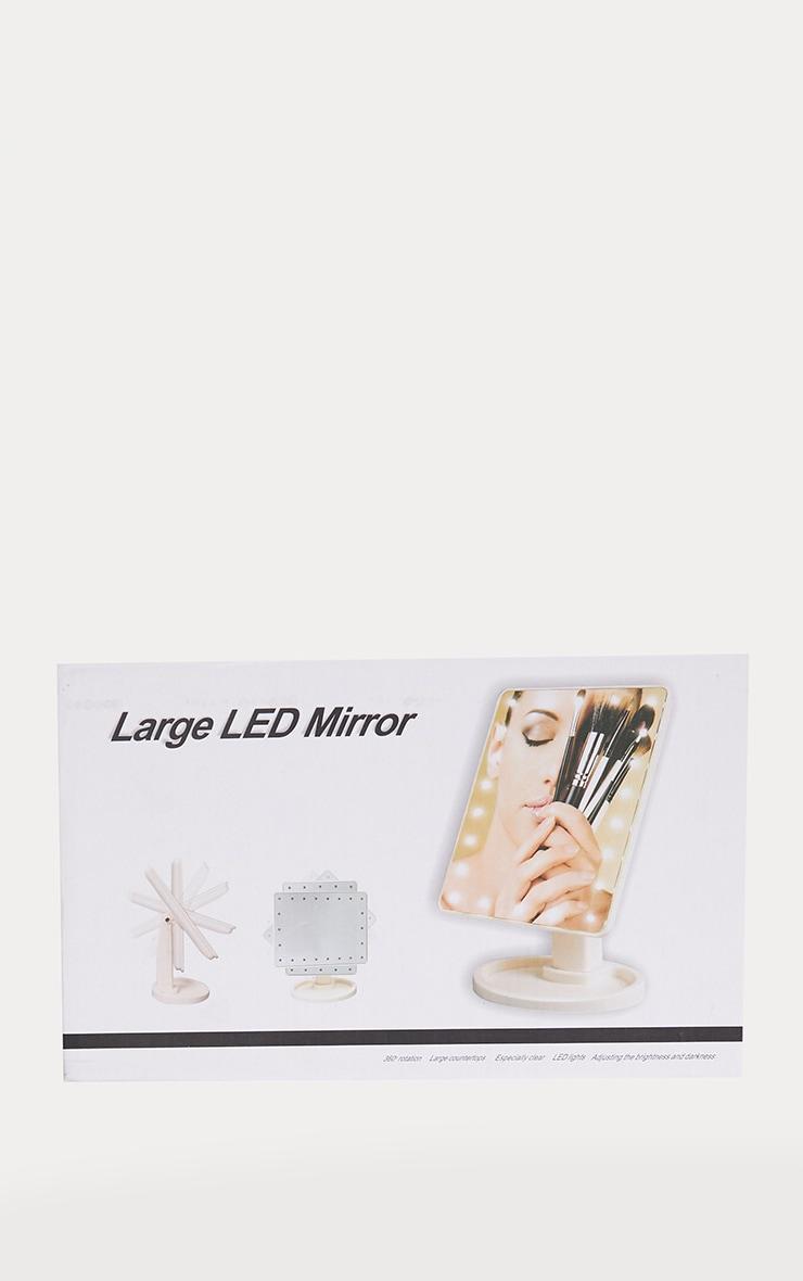 LED Vanity Mirror Black 3