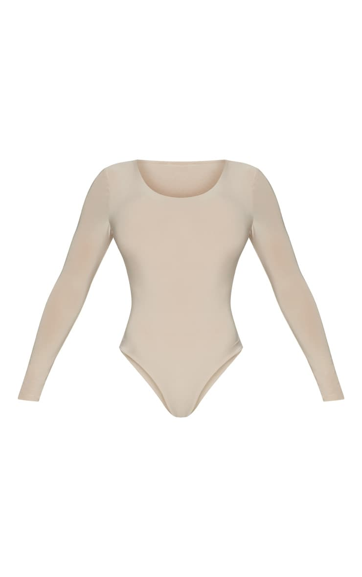 Stone Second Skin Long Sleeve Thong Bodysuit 3
