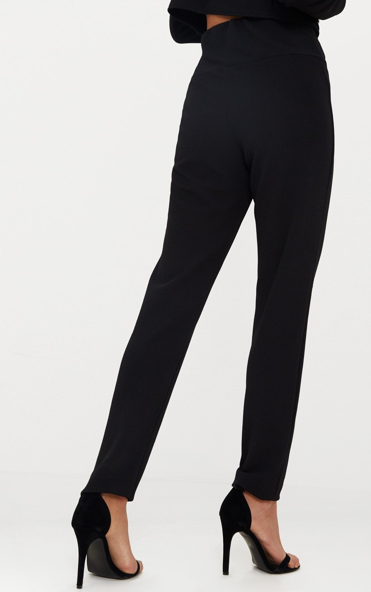 Black Military Skinny Trouser  4