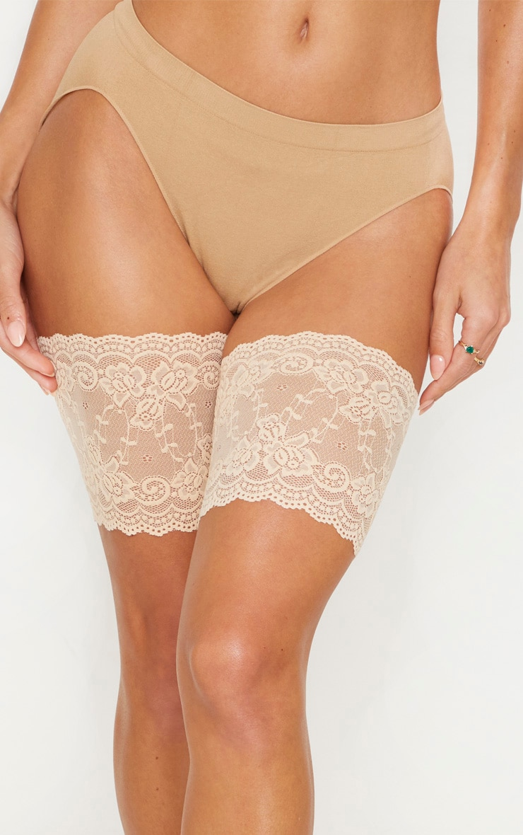 Nude Lace Chafing Bands