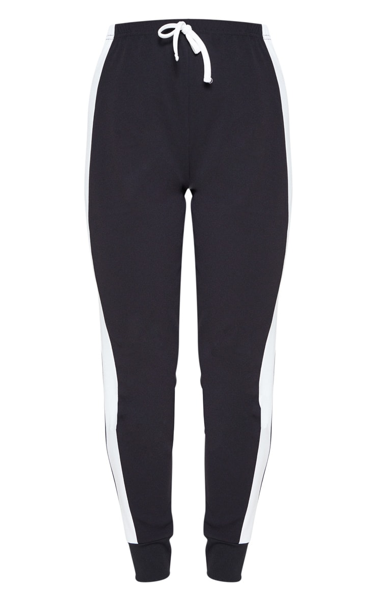 Black Side Stripe Detail Jogger 3