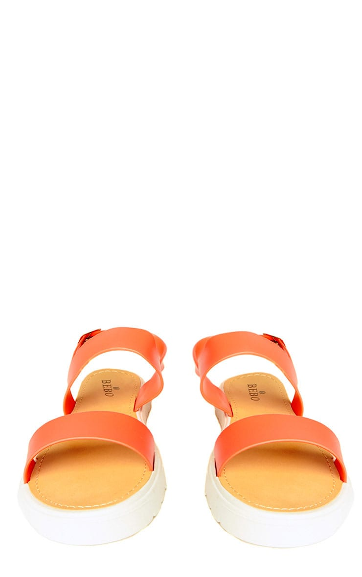 Anneli Coral Rubber Sandals 2