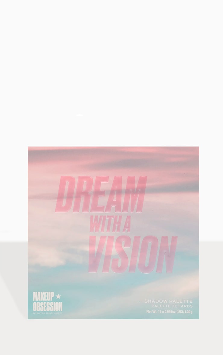 Makeup Obsession Dream With Vision Eyeshadow Palette 3